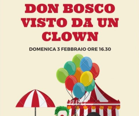 Don Bosco visto da un clown