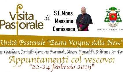 VISITA PASTORALE DEL VESCOVO dal 22 al 24 febbraio