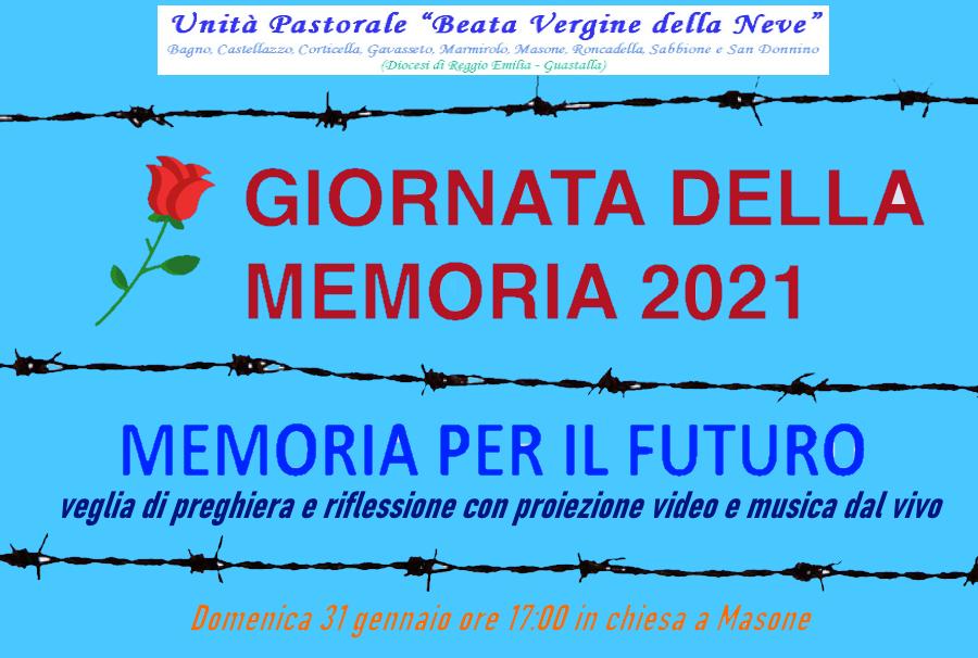 VEGLIA DELLA MEMORIA PER IL FUTURO