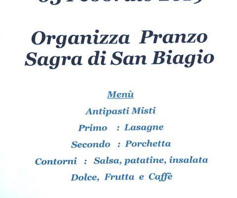 Pranzo della sagra di san Biagio a Marmirolo
