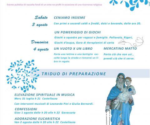 Sagra della Madonna della Neve a Castellazzo