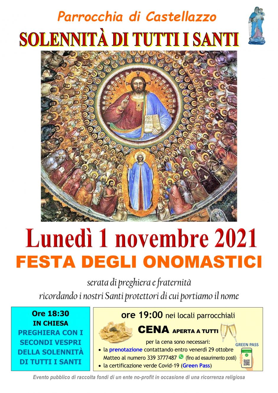 Festa degli onomastici a Castellazzo
